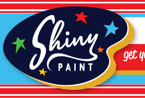 Shiny Paint Logo